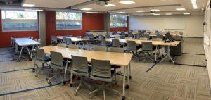 Classroom Upgrades to Fipke 121